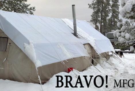 Bravo Canvas Wall Tents